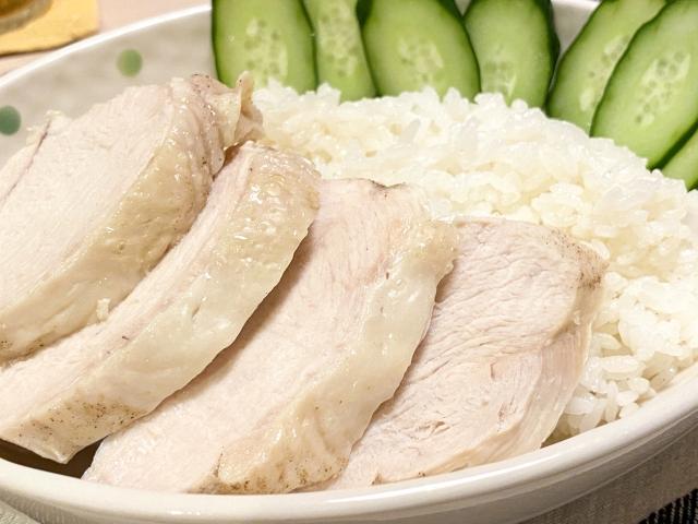 ゆで鶏、カオマンガイ