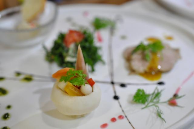 フランス料理、食事、前菜