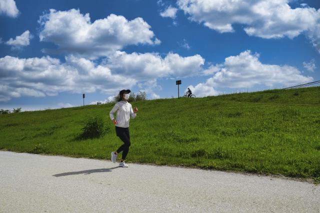 ランニング、運動、体操